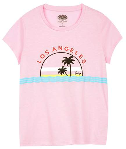 Juicy Couture LA Sunset Graphic Tee for Girls