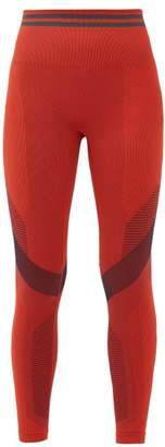 LNDR Skylark High-rise Thermal Leggings - Womens - Red