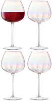 LSA International Pearl Red Wine Glass - Set of 4