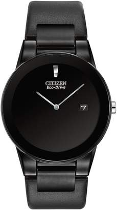 Citizen Axiom Eco-Drive Stainless Steel Black Watch