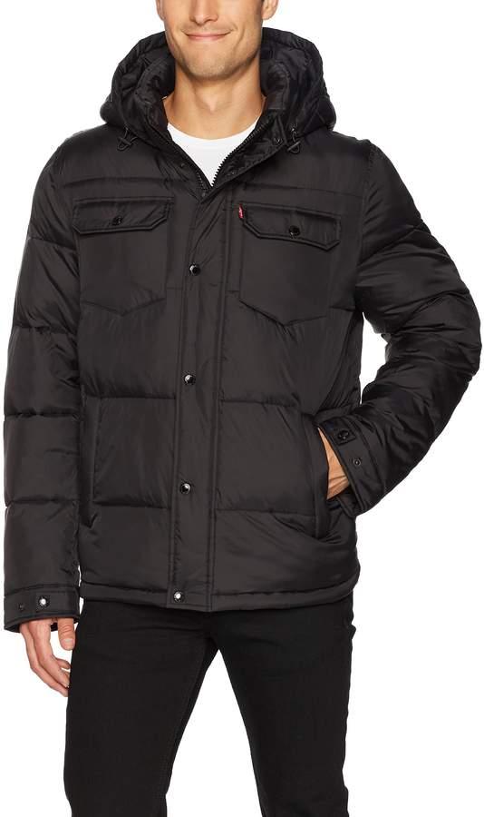 Levi's Men's Quilted Trucker Jacket
