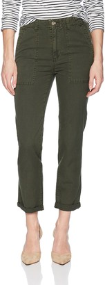 AG Jeans Women's WES Utilitarian Relaxed Straight