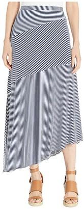 Tommy Bahama Cassia Stripe Maxi Skirt (Island Navy) Women's Skirt