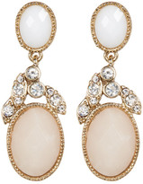 Jenny Packham Crystal & Glass Drop Earrings