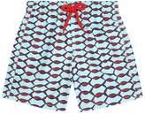 Vilebrequin Fish Print Swim Shorts