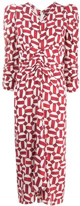 Isabel Marant Maray geometric print dress