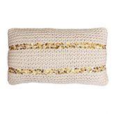 Thro Cori Knit Pillow - Rectangle