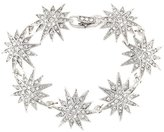 Kenneth Jay Lane Crystal Starburst Bracelet