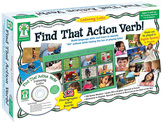 Find that Action Verb Board Game