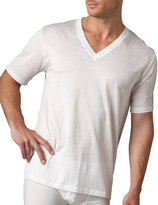 Hanro Cotton Sporty V-Neck T-Shirt