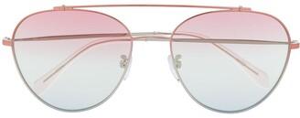 Zadig & Voltaire Zadig&Voltaire gradient lense sunglasses
