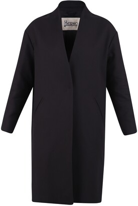 Herno Single Breasted Midi Coat