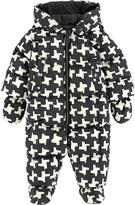 Burberry Houndstooth print padded jumpsuit