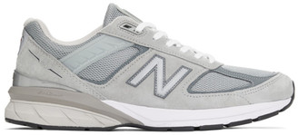 New Balance Grey Made In US 990 v5 Sneakers