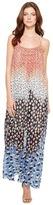 Nic+Zoe Blue Dahlia Dress Women's Dress