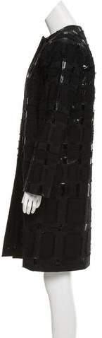 Shamask Textured Evening Jacket