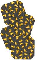 DENY Designs Leah Flores Pizza Party Coaster Set