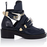 Balenciaga Women's Ceinture Ankle Boots-NAVY, BLUE