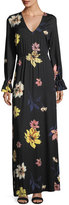 Rachel Pally Jamie Long-Sleeve Floral-Print Maxi Dress