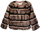 Appaman Faux Fur Coat (Toddler, Little Girls, & Big Girls)