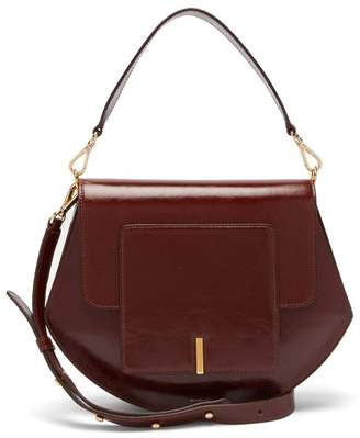 Wandler Al Leather Cross Body Bag - Womens - Burgundy