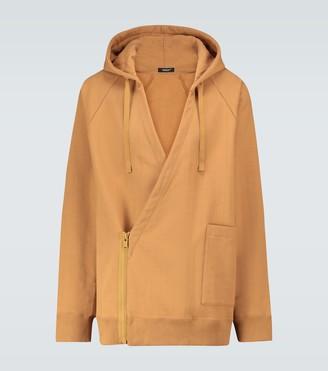 Undercover Zipped side cotton sweatshirt
