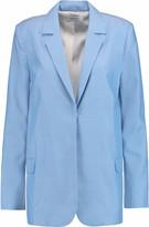 Equipment Mitchell woven silk blazer
