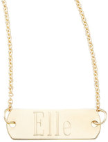 Chicco Zoe Personalized Gold Bar-Pendant Necklace, 26""