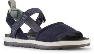 Cougar Adjustable Open-Toe Leather Sandals - Leona