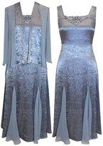 Alex Evenings Plus Size 456119 Dress -Size: 20 Color: