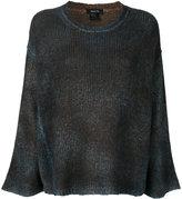 Avant Toi large jumper - women - Silk/Cashmere/Merino - XS