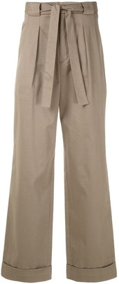 Piet Pleated Wide Leg Trousers