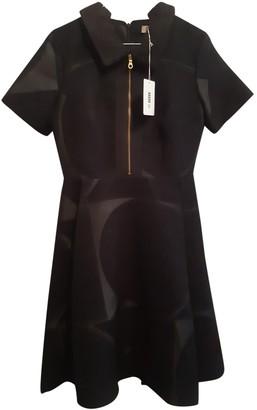 Orla Kiely Black Wool Dress for Women