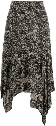 Etoile Isabel Marant Floral Asymmetric Skirt