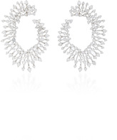 Hueb Luminous 18K White Gold and Diamond Earrings