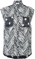 Faith Connexion multi-print sleeveless shirt - women - Silk/Acetate - XS