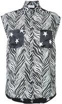 Faith Connexion multi-print sleeveless shirt