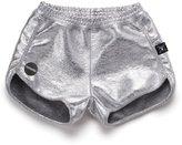 Nununu Girl's Gym Shorts - Silver
