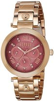 Versus By Versace Women's 'Camden Market' Quartz Stainless Steel Casual Watch, Color:Rose Gold-Toned (Model: SCA060016)