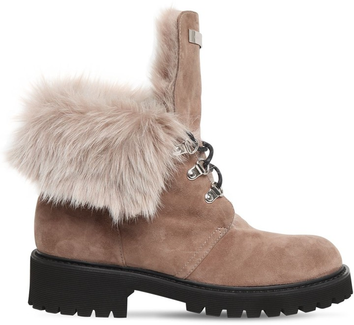 Fur Lined Ankle Boots | Shop the world