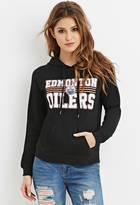 Forever 21 Edmonton Oilers Graphic Hoodie