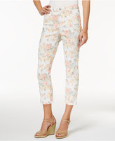 Charter Club Bristol Jacquard Capri Jeans, Only at Macy's
