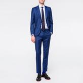 Paul Smith Men's Tailored-Fit Indigo Wool Suit