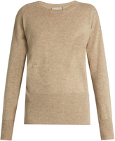 Vince Cut-out back cashmere-knit sweater