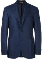 Canali 'Key' blazer - men - Cupro/Wool - 46