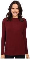 Three Dots Long Sleeve Sweater