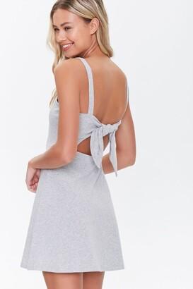 Forever 21 Cutout Self-Tie Skater Dress