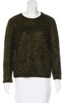 A.L.C. Leopard Print Long Sleeve Sweater w/ Tags