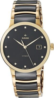 Rado Unisex Centrix Diamond Stainless Steel Swiss Automatic Watch