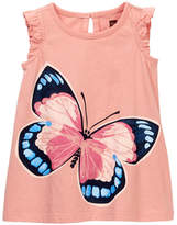 Tea Collection Painted Lady Graphic Dress (Baby & Toddler Girls)